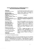 ACTA ONLINE DE LA COMISIÓN DELEGADA DE 25 DE OCTUBRE 2013