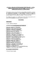 Acta Reunión de Presidentes de FF.AA de 20 de junio 2015