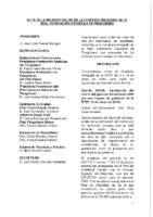 Acta consultas online de Comisión Delegada 9 y 10 de mayo 2019