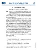 BOE núm. 224. Sec. III. Resolución del 10 de septiembre de 2015, de la Presidencia del Consejo Superior de Deportes