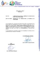 CIRCULAR 13.2019 CAMBIO DE FECHAS CAMPEONATO DE ESPAÑA DE KAYAK POLO POR CLUBES