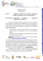 CIRCULAR DT Nº 10:2019 DE 10 DE ABRIL INFORMACIÓN CTO. DEL MUNDO DE SZEGED