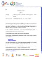 CIRCULAR Nº 12:2019 DE 24 DE ABRIL. CONVOCATORIA DE CURSO Y EXAMEN DE ÁRBITRO INTERNACIONAL DE KAYAK DE MAR