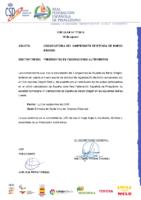 CIRCULAR Nº 17:2018 DE 14 DE AGOSTO DE CONVOCATORIA DEL CAMPEONATO DE ESPAÑA DE BARCO DRAGÓN