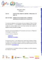 CIRCULAR Nº 18:2018 DE 17 DE AGOSTO DE CONVOCATORIA DE EXAMEN DE ÁRBITRO INTERNACIONAL DE MARATÓN