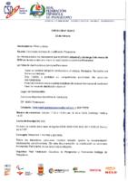 CIRCULAR Nº 4 DE 22 DE FEBRERO CONVOCATORIA MESA DE CLASIFICACION