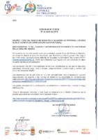 CIRCULAR Nº 5:2018 DE 27 DE ABRIL. COPA DEL MUNDO DE MARATÓN