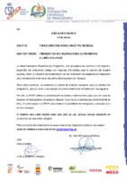 CIRCULAR Nº 8:2019, DE FECHA 14 DE MARZO. PIRAGÜISMO SOLIDARIO. OBJETIVO SENEGAL