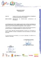 CIRCULAR Nº22:2018 DE 13 DE SEPTIEMBRE RELATIVA AL CAMBIO DE FECHAS SIMPOSIO DE ARBITROS ESPECIALIDADES OLÍMPICAS