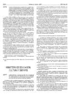 CSD. Criterios Generales para la concesión de ayudas a deportistas españoles por resultados deportivos obtenidos