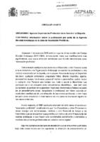 Circular de la AEPSAD sobre personal de apoyo de la WADA de asociación prohibida