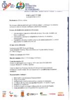 Circular nº 27-2018 CONVOCATORIA MESA DE CLASIFICACIÓN AUTONÓMICA PARACANOE