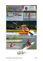 Concentraciones Nacionales Cadete 2012