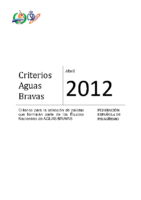 Criterios 2012 Descenso en Aguas Bravas VFINAL JD