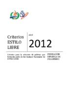 Criterios 2012 Estilo Libre VFINAL JD