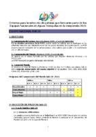 Criterios AT U23 2015 V7