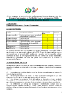Criterios EL 2014