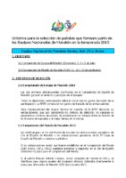 Criterios Maraton 2015
