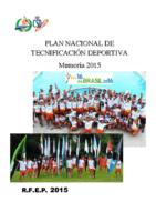 Memoria PNTD 2015