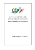 Normativa de los núcleos de entrenamiento 2013-2014