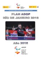 Plan ADOP 2015