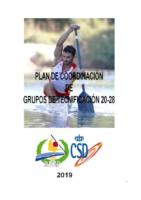 Plan de coordinación de grupos de tecnificación 20-28