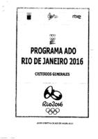 Programa ADO Rio 2016