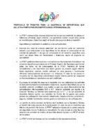 Protocolo de trámites para la asistencia de deportistas que solicitan participar en competiciones internacionales