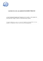 Contratos con Administraciones Públicas