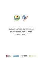 Normativa-para-deportistas-convocados-por-RFEP-2019-20