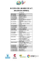 PISTA_EQUIPO NACIONAL III COPA DEL MUNDO BELGRADO