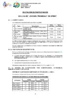 LIGA JOVENES PROMESAS AGUAS TRANQUILAS 2020