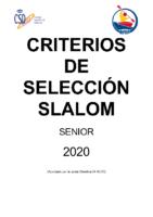 CC. SS. SLALOM SENIOR 2020