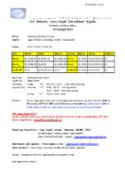 I.C.F. Flatwater Canoe Kayak International Regatta Mantova ITA 27-28 april 2019