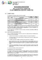 LIGA RIOS Y MARATON 2020