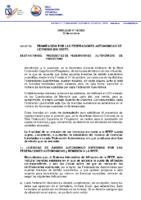 Circular 19 2020 Tramitación de Licencias sin coste