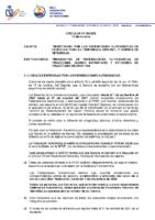 Circular 20-2020 Tramitación de Licencias 2020 2021