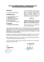 Acta y Anexo Consulta online a Comisión Gestora de 28 de noviembre