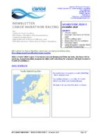 Newsletter marathon