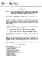 Circular nº 2 Organización de 1 y 2 Copas de España de Slalom y Pruebas de Selección