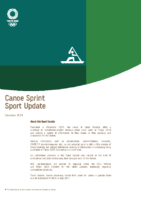 Tokyo 2020 – Canoe Sprint Sport Update as of December 2020