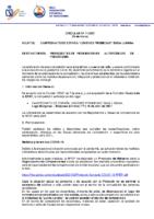CIRCULAR Nº 11 2021 ORGANIZACIÓN CAMPEONATO DE ESPAÑA JÓVENES PROMESAS 5000m y 3000m