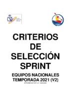 Crirterios SPRINT 2021 v2