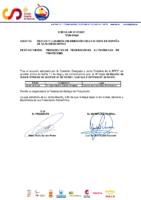 CIRCULAR Nº 22 2021 FECHAS Y SEDE DE LA 3ª COPA DE ESPAÑA DE SLALOM OLÍMPICO