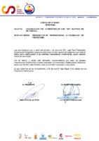 CIRCULAR Nº 26 2021 CANCELACIÓN DEL SUMINISTRO DE LOS TEST RÁPIDOS DE ANTÍGENOS