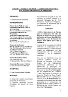 ACTA Y ANEXO DE LA CONSULTA ONLINE A COMISIÓN DELEGADA DE 7.06.21