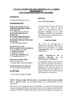 ACTA Y ANEXO REUNIÓN POR VIDEOCONFERENCIA COMISIÓN DELEGADA 15.03.21