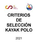CCSS KAYAK POLO 2021