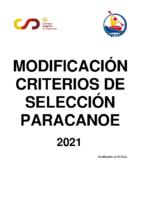 CCSS Modificados Paracanoe 2021