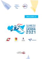 ECA_European Championship Catania 2021_ Bulletin nr 1
